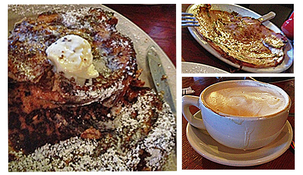 Mama's French Toast-Ham-Latte