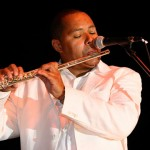 Najee, smooth jazz saxophonist and flautist.