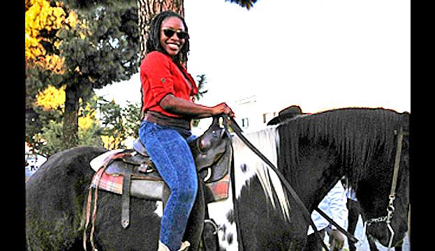 Horseback riding with the black cowboys