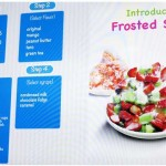 Frosted Snow menu