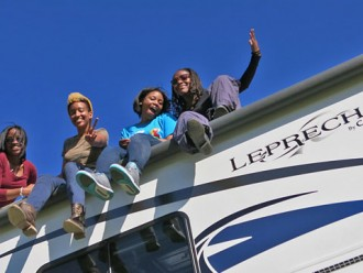 Four Black Girls and an RV: The Dump Station