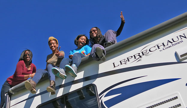 Four Black Girls And An Rv The Dump Station Livin 2