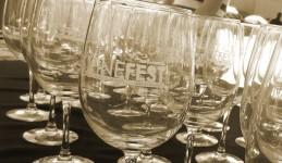 Complimentary LA Wine Fest wine glasses