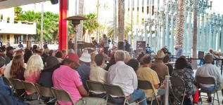 Free Jazz Fridays in the LACMA Courtyard