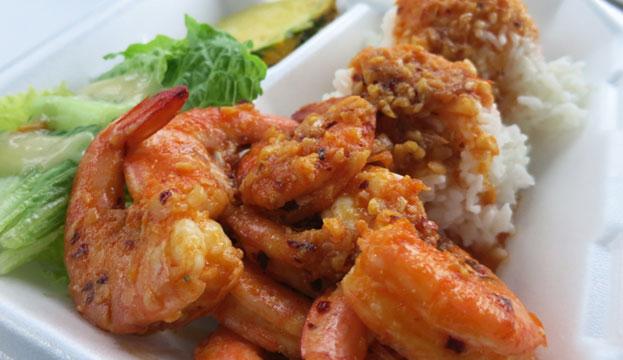 Hawaii Fumi's Shrimp farm