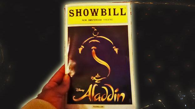 Aladdin-playbill