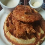 Grit Waffle at Aunt Mary's Café